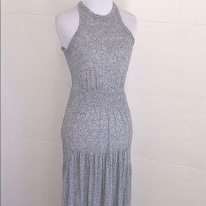 Rebecca Taylor Heather Gray Maxi Dress Xs